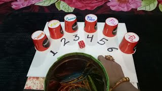 SIX colour BANGLES mastiiiiii TEEJ PARTY kitty game (Jyoti creation)