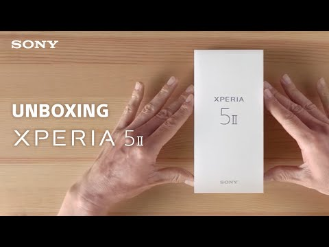 Unboxing: Sony Xperia 5 II
