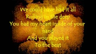 Glee Cast - Rolling In The Deep - (+ Lyrics)