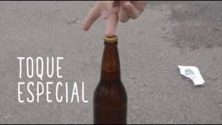 como abrir uma garrafa de cerveja sem abridor