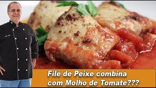 Filé de Peixe combina com Molho de Tomate? - Chef Taico