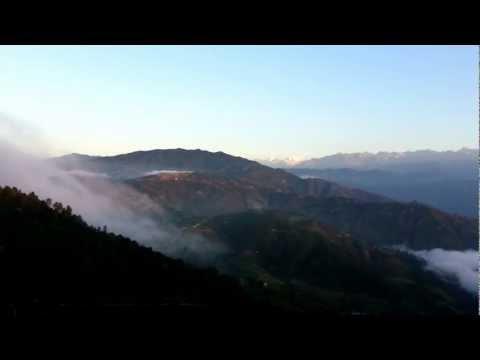 Himalaya Nagarkot Nepal Langtang Range Sunrise