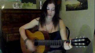 """Lonely Boy"" The Black Keys, Acoustic Cover by Hannah Yates (including riffs)"