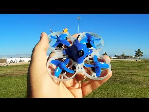 Beta75X Extreme Brushless 2S Whoop FPV Racer Flight Test Review