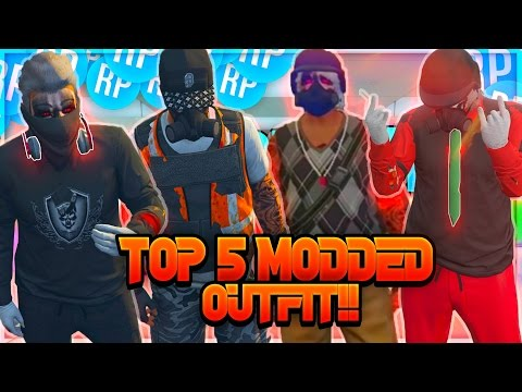 TOP 5 MODDED OUTFIT!