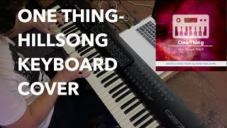 """One Thing"" Hillsong Worship- MainStage Keyboard Cover"