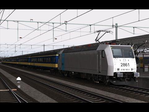 IC Brussel naar Amsterdam | SNCB-NMBS 2861 Railpool | Train Simulator 2017