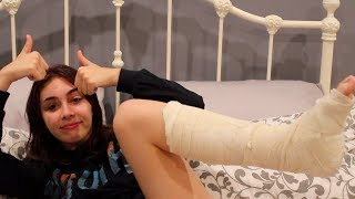 I broke my foot lol | storytime