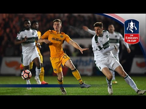 Newport County 0-1 Plymouth Argyle (Replay) Emirates FA Cup 2016/17 (R2) | Goals & Highlights