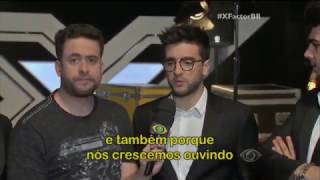 IL Volo no Pré Factor com Mauricio Meirelles