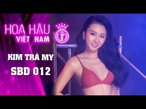 012 KIM TRÀ MY HOA HẬU VIỆT NAM 2020