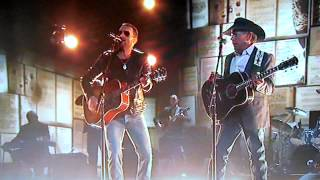 Cowboys Like Us - George Strait and Eric Church performing live at CMA Awards 2014