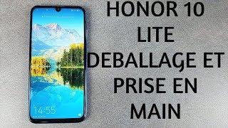 Vidéo-Test : Honor 10 Lite Déballage et prise en main