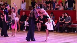 Prague Open 16.9.2017 - Gabriele Goffredo & Anna Matus - final RUMBA with kiss