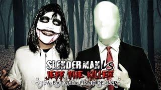 Slenderman VS Jeff the Killer. Batalla de Rap (Especial Halloween) | Keyblade