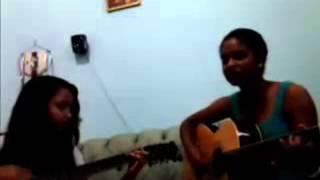 Faz um Milagre em mim- Regis Danese- (voz e violão com Gabriela e Juliana)