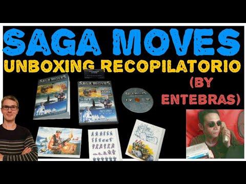 Unboxing Recopilatorio Saga Moves (by Entebras)