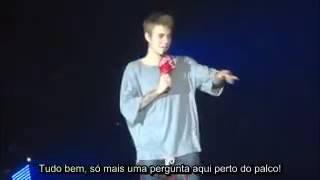 Justin Bieber responde pergunta de fãs (Legendado)