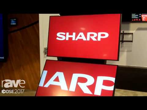 DSE 2017׃ Sharp Showcases PN-R Display Series Overview