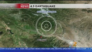 Redlands Abuzz Over Early-Morning Earthquake