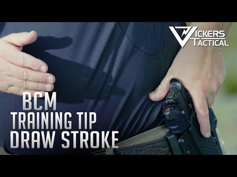BCM Training Tip - Handgun Draw Stroke