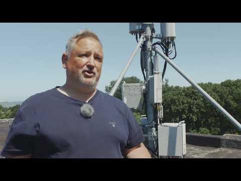 Rambøll måler 5G-strålingsniveau