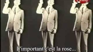 L'important c'est la rose -Gilbert Bécaud- (avec sous-titres) width=