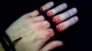 Cut Fingers trick art [Tuto]