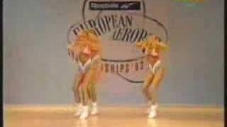 European Aerobics Championship 1993 Trio