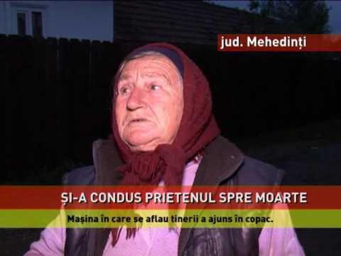 Accident mortal în județul Mehedinți