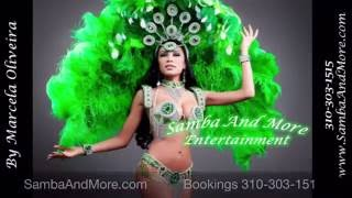 Brazilian Entertainment - Samba Dancers & Drummers Show by Samba And More Entertainment