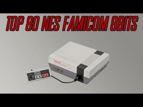 Top 80 NES Famicom 8Bits Nintendo
