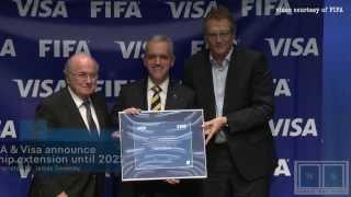 FIFA & Visa extend partnership until 2022