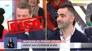 Você na TV  (TVI) - Batalha de piadas secas   NãoQueresNada HD
