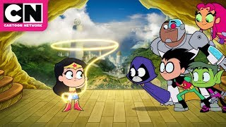 Teen Titans GO! To The Movies | Extended Clip | Cartoon Network width=