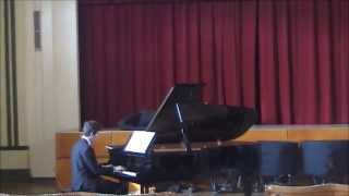 One Summer's Day on piano