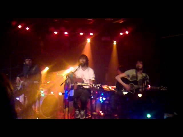 Vídeo de un concierto en la sala Blackbird de Santander.