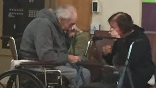 Elderly Couple Finally Reunited After Being Forced To Live In Different Health Care Facilities