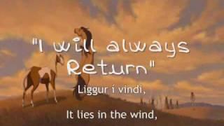 Spirit (icelandic) I Will Always Return +subs&translation