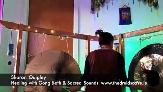 Healing Gong Bath & Sacred Sound Journey Meditation with Sharon Quigley