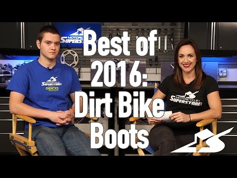 Best of 2016: Dirt Bike Boots