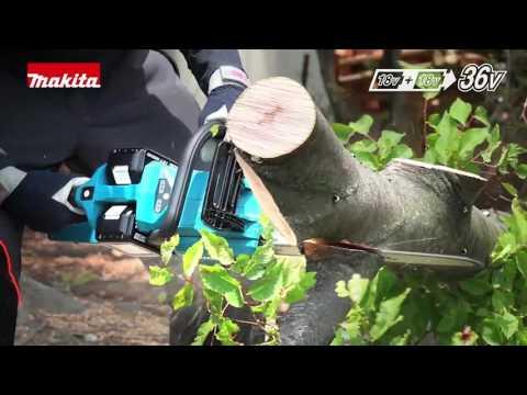 Tecnologia Makita 18V +18V = 36V - Linha Bateria 18Vx2 Jardim Floresta (OPE)