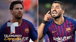 Los duros temores del Barcelona: Messi no anda bien y Suárez, HORRIBLE   Telemundo Deportes