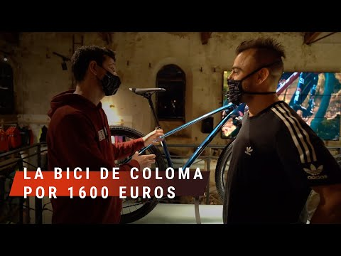 La BICI de COLOMA por 1600Є | Valentí Sanjuan en Bici Escapa