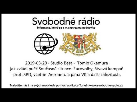 Tomio Okamura: Odpovídal jsem na telefonické a SMS otázky posluchačů na Svobodném rádiu.