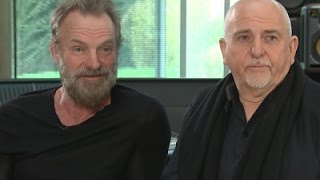 Chalk and Cheese: Sting and Peter Gabriel
