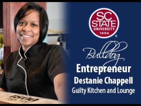 "SC State Celebrates ""Bulldog Entrepreneur�—Destanie Chappell"