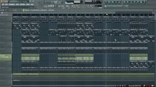 [FLP] - Kizomba | Yasmine - Esquece O Mundo [Instrumental FL Studio 11 Remake]