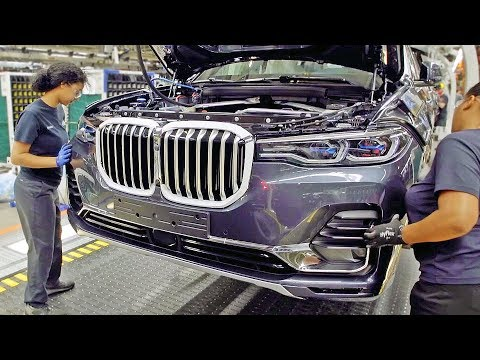 BMW X7 ? PRODUCTION LINE ? German Car Factory in USA