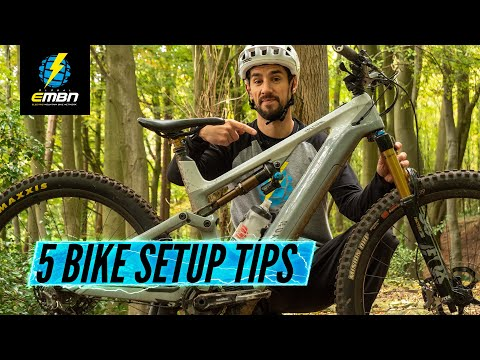 5 Ways To Change How Your EBike Rides | Bike Fit Setup Tips